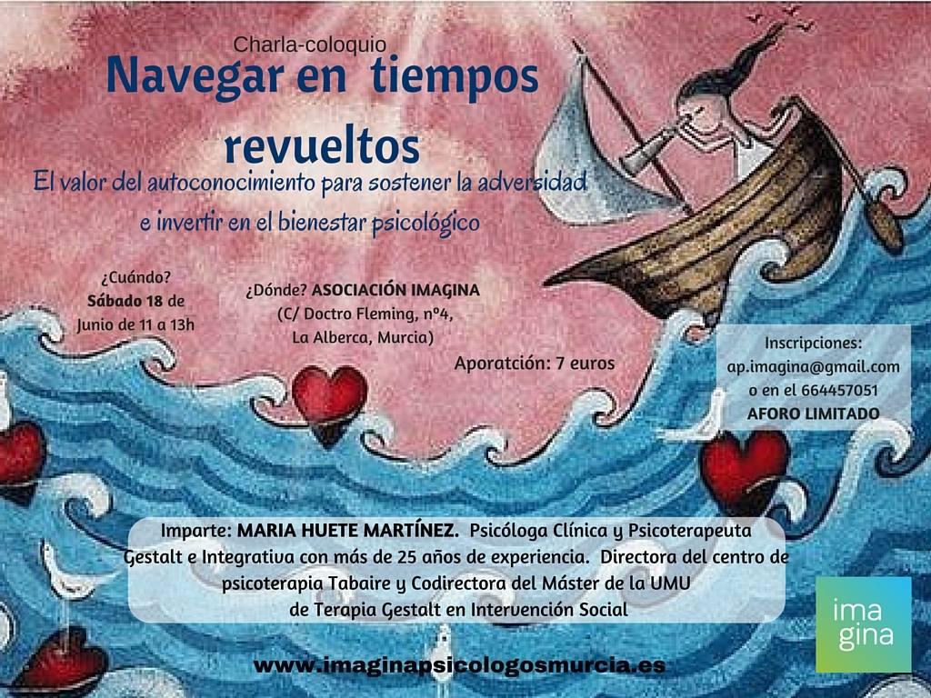 charla navegar en tiempos revueltos